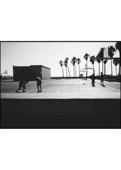 Basketball In Venice Beach