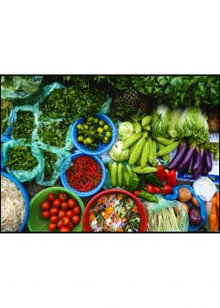 Colorful Fresh Asian Food
