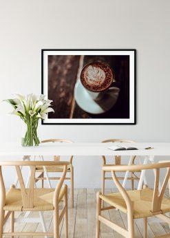 Milk Leaf In Coffee