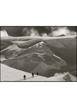 Ski Mountaineering in Snowy Mountain