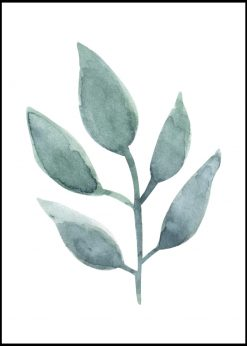 Green Leaf Painting
