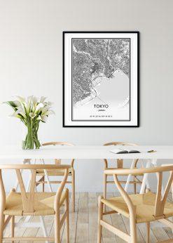 Map of Tokyo nr.1