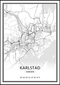 Map of Karlstad nr.1