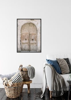 Medieval Wooden Door
