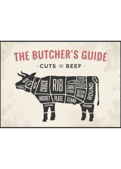 Butcher´s Guide Ox
