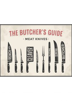 Butcher´s Guide Meat Knives