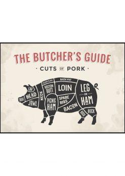 Butcher´s Guide Pork