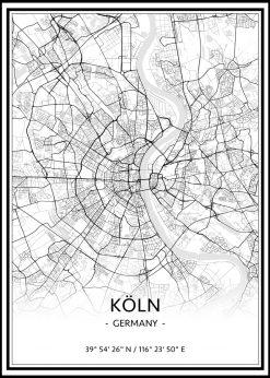 Map of Köln nr.1
