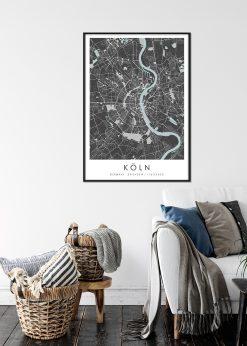 Map of Köln nr.2