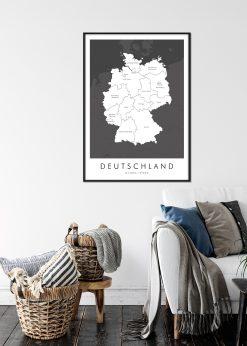 Map of Deutschland nr.1