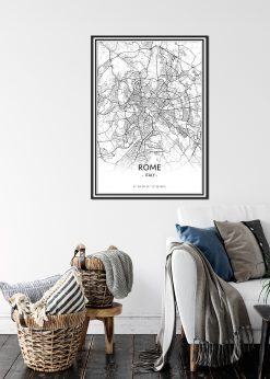 Map of Rome nr.1