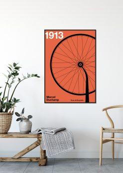 1913 Roue de Bicyclette by Florent Bodart