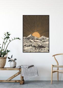 Mountainscape 6 by Florent Bodart