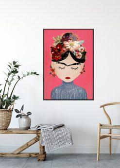 Frida Pink by treechild