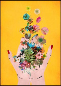 Fridas Hands Yellow by treechild