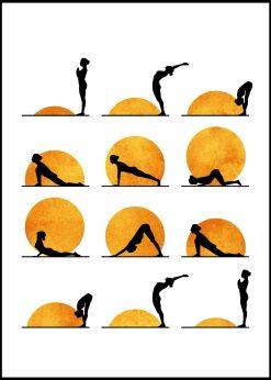 Yoga Sun by Kubistika