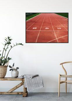 Running Tracks at a Stadium