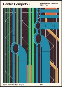 Pompidou by Florent Bodart