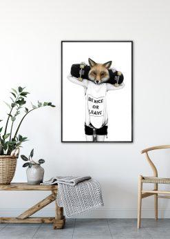 Fox'n'roll by Sanna Wieslander