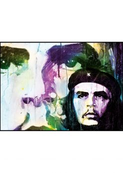 Che Guevara Zoomed Out by Didier Chastan