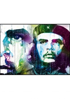 Che Guevara Zoomed In by Didier Chastan
