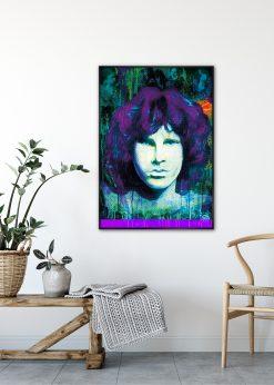 Jim Morisson Purple by Didier Chastan