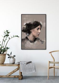 Virginia Woolf by Gabriella Roberg