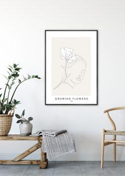 Growing Flowers No. 5 by Linnea Nygren