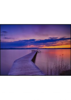 Jetty in Sunset